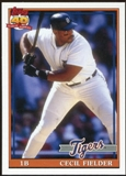 2012 Topps Archives #223 Cecil Fielder SP