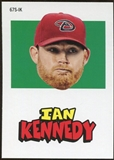 2012 Topps Archives Stickers #IK Ian Kennedy