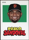 2012 Topps Archives Stickers #PS Pablo Sandoval