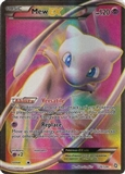 Pokemon Dragons Exalted Single Mew ex 120/124