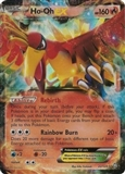 Pokemon Dragons Exalted Single Ho-oh ex 22/124 - SLIGHT PLAY (SP)