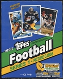 1993 Topps Series 1 Football Rack Box