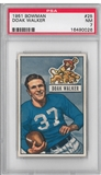 1951 Bowman Football Doak Walker PSA 7 (NM) *0026
