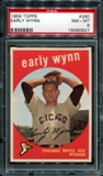 1959 Topps Baseball #260 Early Wynn PSA 8 (NM-MT) *0927