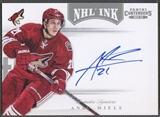 2011/12 Panini Contenders #51 Andy Miele NHL Ink Auto