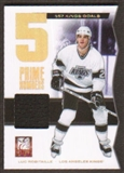 2011/12 Panini Elite Prime Number Jerseys #10 Luc Robitaille* /500