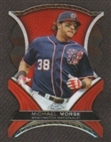 2012 Topps Chrome Dynamic Die Cuts #MMO Michael Morse