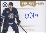 2011/12 Panini Contenders #67 Eric Fehr NHL Ink Gold Auto #20/25