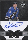 2011/12 Limited #7 Dale Hunter Men of Mayhem Signatures Auto #94/99