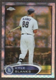 2012  Topps Chrome X-Fractors #81 Kyle Blanks