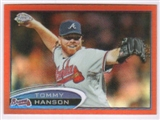 2012 Topps Chrome Orange Refractors #33 Tommy Hanson