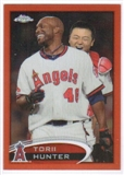 2012 Topps Chrome Orange Refractors #51 Torii Hunter