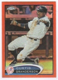 2012 Topps Chrome Orange Refractors #60 Curtis Granderson