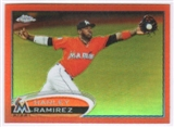 2012 Topps Chrome Orange Refractors #74 Hanley Ramirez