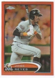 2012 Topps Chrome Orange Refractors #75 Jose Reyes