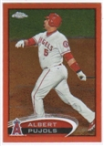 2012 Topps Chrome Orange Refractors #80 Albert Pujols