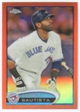 2012 Topps Chrome Orange Refractors #140 Jose Bautista