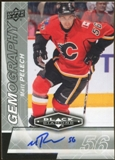 2010/11 Upper Deck Black Diamond Gemography #GMP Matt Pelech Autograph