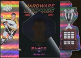 2010/11 Upper Deck Black Diamond Hardware Heroes #HHBO Bobby Orr /100