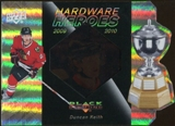 2010/11 Upper Deck Black Diamond Hardware Heroes #HHDK Duncan Keith /100