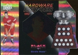 2010/11 Upper Deck Black Diamond Hardware Heroes #HHGH Gordie Howe /100