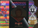 2010/11 Upper Deck Black Diamond Hardware Heroes #HHLR Larry Robinson /100
