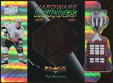 2010/11 Upper Deck Black Diamond Hardware Heroes #HHRB Ray Bourque /100