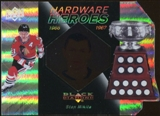 2010/11 Upper Deck Black Diamond Hardware Heroes #HHSM Stan Mikita /100