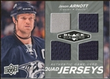 2010/11 Upper Deck Black Diamond Jerseys Quad #QJJA Jason Arnott