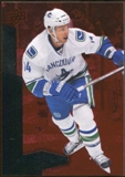 2010/11 Upper Deck Black Diamond Ruby #73 Alexandre Burrows /100