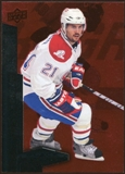 2010/11 Upper Deck Black Diamond Ruby #90 Brian Gionta /100