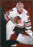 2010/11 Upper Deck Black Diamond Ruby #92 Antti Niemi /100