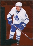 2010/11 Upper Deck Black Diamond Ruby #99 Dion Phaneuf /100