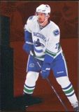 2010/11 Upper Deck Black Diamond Ruby #131 Daniel Sedin /100