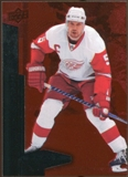 2010/11 Upper Deck Black Diamond Ruby #132 Nicklas Lidstrom /100