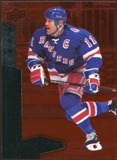2010/11 Upper Deck Black Diamond Ruby #142 Mark Messier /100
