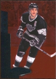 2010/11 Upper Deck Black Diamond Ruby #143 Luc Robitaille /100