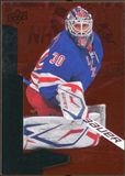 2010/11 Upper Deck Black Diamond Ruby #144 Henrik Lundqvist /100