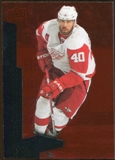 2010/11 Upper Deck Black Diamond Ruby #191 Henrik Zetterberg /100