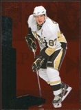 2010/11 Upper Deck Black Diamond Ruby #199 Sidney Crosby /100