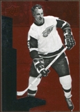 2010/11 Upper Deck Black Diamond Ruby #201 Gordie Howe /100