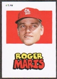 2012 Topps Archives Stickers #RM Roger Maris