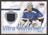 2007/08  Ultra Uniformity #UCS Curtis Sanford