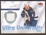2007/08  Ultra Uniformity #UTK Keith Tkachuk