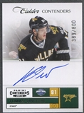 2011/12 Panini Contenders #215 Tomas Vincour Rookie Auto /800