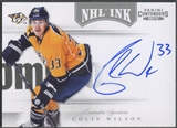 2011/12 Panini Contenders #31 Colin Wilson NHL Ink Auto SP