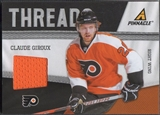 2011/12 Pinnacle #80 Claude Giroux Threads Jersey