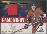 2011/12 Pinnacle #21 Stephane Da Costa Game Night Materials Jersey
