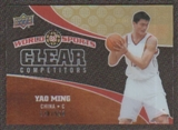 2010 Upper Deck World of Sports Clear Competitors #CC2 Yao Ming /550