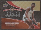 2010 Upper Deck World of Sports Clear Competitors #CC3 Magic Johnson /550